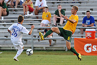 John Lesko #6 AC St Louis, Alex Semenets...AC St Louis and Vancouver Whitecaps played to a 0-0 tie at Anheuser-Busch Soccer Park, Fenton, Missouri.