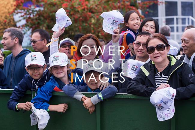 Golf fans during the day three of UBS Hong Kong Open 2017 at the Hong Kong Golf Club on 25 November 2017, in Hong Kong, Hong Kong. Photo by Marcio Rodrigo Machado / Power Sport Images