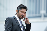Kumar Sangakkara at the ground during a training session ahead of the ICC World Test Championship Final at the Hampshire Bowl on 17th June 2021