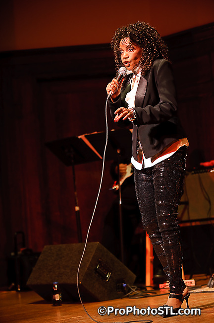 Melba Moore performing at Community Women Against Hardship 2009 Gala Concert at The Sheldon in St. Louis, MO on Oct 25, 2009.