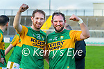 Pádraig  Boyle, Kerry and Mikey Boyle, Kerry after the Joe McDonagh hurling cup fourth round match between Kerry and Carlow at Austin Stack Park on Saturday.