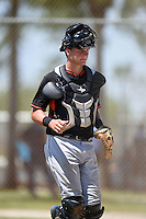 Miami Marlins Blake Anderson (23) during a minor league spring training game against the St. Louis Cardinals on March 31, 2015 at the Roger Dean Complex in Jupiter, Florida.  (Mike Janes/Four Seam Images)