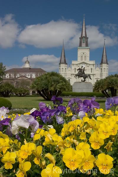 April 15, 2006 - St. Louis Cathedral on Jackson Square, New Orleans, LA