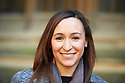 Dame Jessica Ennis-Hill,  Olympic and World Champion track and field athlete who has written a children's book Evie's Magic Bracelet at The Oxford Literary Festival 2017 CREDIT Geraint Lewis