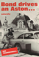 BNPS.co.uk (01202 558833)<br /> Pic: Lyon&Turnbull/BNPS<br /> <br /> Pictured: 'Bond drives an Aston... Naturally' with an estimate of £1,000-£1,500.<br /> <br /> A collection of original James Bond posters featuring Roger Moore and Sean Connery could sell for a whopping £26,400.<br /> <br /> The set of 15 vintage posters include rare signed copies by Moore and highly desirable ones advertising Connery's earliest films.<br /> <br /> They depict classic icons spanning over 20 years of 007 history such as the 'gold lady' from Goldfinger, 1964, tipped to sell for £8000.