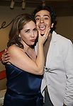 "Andrea Burns and Mateo Ferro attends the Opening Night performance afterparty for ENCORES! Off-Center production of ""Working - A Musical""  at New York City Center on June 26, 2019 in New York City."