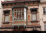 Lace Shoppe Display Window, Govaerts House, Wollestraat, Bruges, Brugge, Belgium