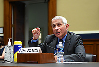 Dr. Anthony Fauci, Director of the National Institute for Allergy and Infectious Diseases, National Institutes of Health, testifies during a House Energy and Commerce Committee hearing on the Trump Administration's Response to the COVID-19 Pandemic, on Capitol Hill in Washington, DC on Tuesday, June 23, 2020. <br /> Credit: Kevin Dietsch / Pool via CNP/AdMedia