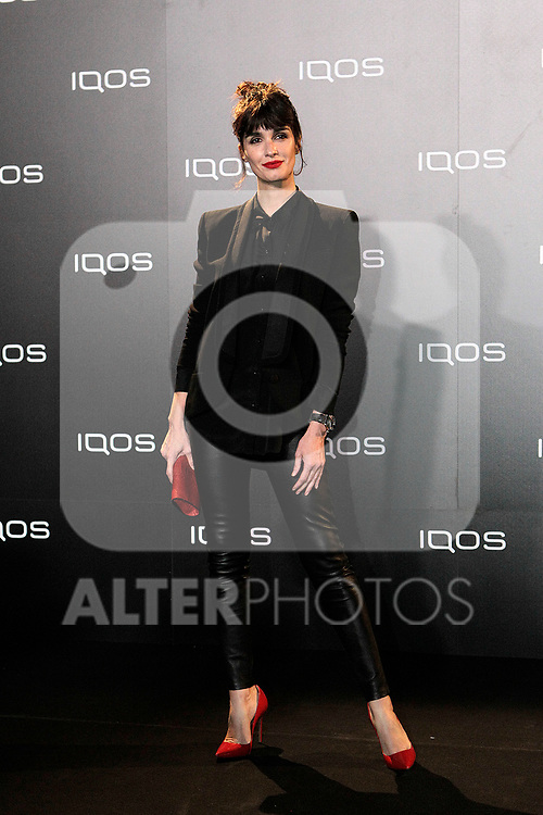 Paz Vega attends to IQOS3 presentation at Palacio de Cibeles in Madrid. February 10,2019. (ALTERPHOTOS/Alconada)
