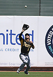 Salt Lake Bees Austin Cousino makes a play against the Reno Aces at Greater Nevada Field in Reno, Nev., on Tuesday, June 7, 2016. <br />