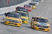 #4: Todd Gilliland, Kyle Busch Motorsports, Toyota Tundra Pedigree, #25: Dalton Sargeant, GMS Racing, Chevrolet Silverado Performance Plus Motor Oil