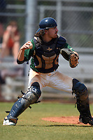 Farmingdale State Rams Ryan Jordan during a game against the U-Mass Boston Beacons at North Charlotte Regional Park on March 19, 2015 in Port Charlotte, Florida.  U-Mass Boston defeated Farmingdale 9-5.  (Mike Janes/Four Seam Images)