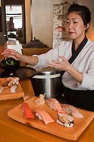 Europe/France/Bretagne/29/Finistère/Brest: Mika e  Pensec et ses sushis, Restaurant japonais: Hinoki, [Non destiné à un usage publicitaire - Not intended for an advertising use]