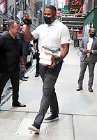 NEW YORK, NY- JULY 28: Michael Strahan seen outside ABC studios in New York City on July 28, 2021. Credit: RW/MediaPunch