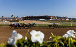 AUGUST 07 2021: Horses race at Del Mar Fairgrounds in Del Mar, California on August 07, 2021. Evers/Eclipse Sportswire/CSM