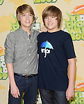 Cole & Dylan Sprouse at The 2009 Nickelodeon's Kids Choice Awards held at Pauley Pavilion in West Hollywood, California on March 28,2009                                                                     Copyright 2009 Debbie VanStory/RockinExposures