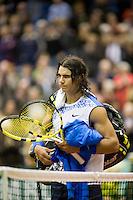 21-2-08, Netherlands, Rotterdam ABNAMROWTT 2008, Rafael Nadal  verslagen door Andreas Seppi