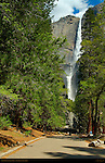 Yosemite Falls during Spring Flood, Western Approach Trail, Yosemite National Park