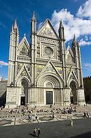 Italien, Umbrien, Dom von Orvieto