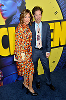 """LOS ANGELES, USA. October 15, 2019: Tim Blake Nelson & Lisa Benavides-Nelson at the premiere of HBO's """"Watchmen"""" at the Cinerama Dome, Hollywood.<br /> Picture: Paul Smith/Featureflash"""