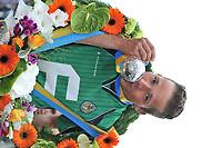 KAATSEN: FRANEKER: Sjûkelân, 31-07-2013, 160e PC Kaatsen, Renze Pieter Hiemstra werd uitgeroepen tot 'Koning', ©foto Martin de Jong