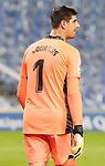 Real Madrid's Thibaut Courtois during La Liga match. September 20, 2020. (ALTERPHOTOS/Acero)
