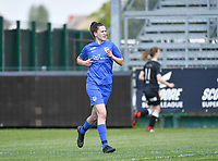 forward Gwen Duijsters (13) of KRC Genk pictured during a female soccer game between Eendracht Aalst and Racing Genk on the 10 th and last matchday of play off 2 of the 2020 - 2021 season of Belgian Scooore Womens Super League , Saturday 29 st of May 2021  in Aalst , Belgium . PHOTO SPORTPIX.BE | SPP | DAVID CATRY