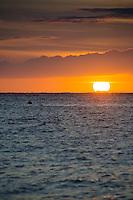 Sunset from Lahaina, Maui, Hawaii, US