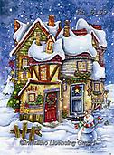Interlitho-Dani, CHRISTMAS SANTA, SNOWMAN, WEIHNACHTSMÄNNER, SCHNEEMÄNNER, PAPÁ NOEL, MUÑECOS DE NIEVE, paintings+++++,crooked house,KL6169,#x#