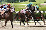 Caixa Electronica (no. 7) with Javier Castellano aboard catches Justin Philip to win the 34th running of the True North Handicap for 3-year olds & up going 6 fulongs at Belmont.  Trainer Todd Pletcher.  Owner Repole Stables