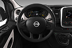 Car pictures of steering wheel view of a 2017 Nissan NV300 Optima 4 Door Cargo Van Steering Wheel