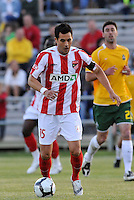 Kevin Sakuda...AC St Louis were defeated 1-2 by Austin Aztek in their inaugural home game in front of 5,695 fans at Anheuser-Busch Soccer Park, Fenton, Missouri.