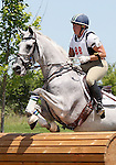 11 July 2009: Becky Holder riding Courageous Comet during the cross country phase of the CIC 3* Maui Jim Horse Trials at Lamplight Equestrian Center in Wayne, Illinois.