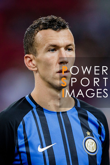 FC Internazionale Forward Ivan Perisic getting into the field during the International Champions Cup 2017 match between FC Internazionale and Chelsea FC on July 29, 2017 in Singapore. Photo by Marcio Rodrigo Machado / Power Sport Images
