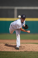 Detroit Tigers pitcher Brendan White (54) during a Florida Instructional League game against the Toronto Blue Jays on October 28, 2020 at Joker Marchant Stadium in Lakeland, Florida.  (Mike Janes/Four Seam Images)