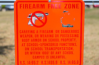 New Orleans, Louisiana.  Notice that Loyola University Campus is a Firearm-free Zone.  Uptown District.