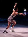 Figure Skater Skating Backward