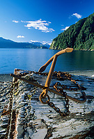 Boat Anchor, Fox Island, Kenai Fjords National Park, Alaska