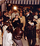 Vincente Minnelli and Lee Anderson attending the  Liza Minnelli and Mark Gero Wedding on December 4, 1979 at St. Bartholomew Church in New York City.