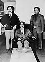 USA 1978.General Barzani et ses fils a gauche Masoud , a droite Idris Barzani.USA 1978.General Barzani and his sons, Masoud Barzani and Idris Barzani
