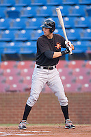 Billy Rowell #11 of the Frederick Keys at bat versus the Winston-Salem Dash at Wake Forest Baseball Stadium August 6, 2009 in Winston-Salem, North Carolina. (Photo by Brian Westerholt / Four Seam Images)