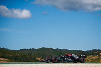 30th April 2021; Algarve International Circuit, in Portimao, Portugal; F1 Grand Prix of Portugal, Free practise:  77 BOTTAS Valtteri (fin), Mercedes AMG F1 GP W12 E Performance