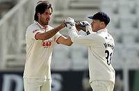 Shane Snater  of Essex celebrates taking the wicket of Ben Slater during Nottinghamshire CCC vs Essex CCC, LV Insurance County Championship Group 1 Cricket at Trent Bridge on 6th May 2021