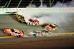 Feb 07, 2009; 8:34:20 PM;  Daytona Beach, FL. USA; NASCAR Sprint Cup Series race at the Daytona International Speedway for the  Budweiser Shootout.  Mandatory Credit: (thesportswire.net)