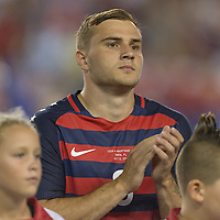 Tampa, FL - July 12, 2017: Jordan Morris The USMNT (USA) defeated Martinique (MAR) 3-2 in a 2017 Gold Cup group stage match at Raymond James Stadium.