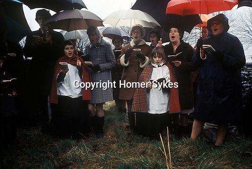 William Hubbard Easter Service Market Harborough Leicestershire UK 1970s.1971 or 1972