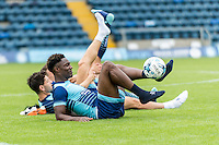 Anthony Stewart of Wycombe Wanderers during the Open Training Session in front of supporters during the Wycombe Wanderers 2016/17 Team & Individual Squad Photos at Adams Park, High Wycombe, England on 1 August 2016. Photo by Jeremy Nako.