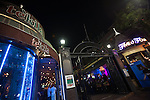 Restaurants and nightclubs at the Jane's House complex on Hollywood Blvd in Hollywood, Los Angeles, CA