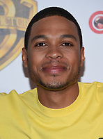 Ray Fisher @ the photocall for WB films presentation held @ The Colosseum at Caesars Palace.<br /> March 29, 2017 , Las Vegas, USA. # CINEMA CON 2017 - PHOTOCALL WB STUDIOS