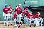 WATERBURY, CT 071221JS18  Brass City Bombers' John Greene waits in the on-deck circle as he and his teammates look on during their Connecticut Collegiate Baseball League game against the Wallingford Silver. Storm Monday at Municipal Stadium in Waterbury. <br />  Jim Shannon Republican American